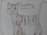 Selbstgemalte Katzen von