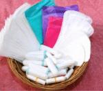 Weißt du, was Binden und Tampons sind?
