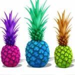 Reife Ananas müssen nicht gelb sein