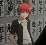 ((bold))Misuki_Shiota's erster Charakter((ebold)) Vorname: Karma Nachname: Akabane Spitzname: // Alter: 15 Jahre Geschlecht: männlich Wesen: Men