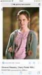 Ginny ist eher schüchtern ....