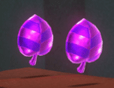Wo gibt es diese lila Münzen?