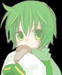 Name: Emerald Spitzname: × Alter: 15 Geschlecht: männlich Edelstein: Smaragd Haare: kinnlange, weiche Locken, die in einem etwas dunkleren Grün fre