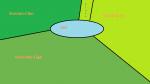 ((fuchsia))Das Territorium((efuchsia)) Das neue Territorium liegt an einem See. Dort gibt es mehr als genug Platz für alle Clans. Hier siehst du eine