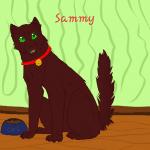 Name: Sammy(Feuerstern als Hauskätzchen) Hintergrund: Hauskätzchenmäßig Name aufs Bild: Ja Gewünscht von: Scherbi