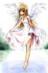 Name:Angelina White *Spitzname:Angie, Lina Geschlecht:weiblich Alter:16 *Geburtstag:7.3. Wesen:Engel AGs: World, DeSign, Wesenpflege *Best