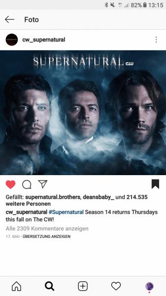 Staffeln Supernatural