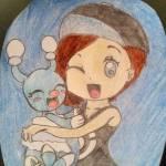((bold))((blue))Mein erster Charakter: Name: Lara Geschlecht: weiblich Alter: 15 Aussehen: siehe Bild Kleidung: siehe Bild Charakter: fröhlich, laut,