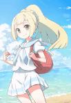 ((unli))Sonnenfell's zweites Steckbrief ((eunli)) Name: Lilly Geschlecht: Weiblich Alter: 15 Aussehen: Lange, hellblonde Haare in einem Zopf, gr�