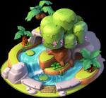 Dschungelfluss-Strömung
