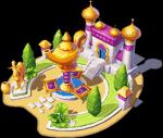 Aladdins fliegende Teppiche
