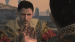 Welchen Mann der sich als Gelehrter ausgibt trifft Ezio auf dem Schiff?