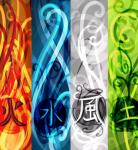 Welches Element bist du? 🔥💧🌳🌀