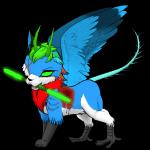 Das ist Wings, der Spion des Clans