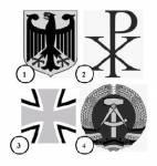 Welches ist das Wappen der Bundesrepublik Deutschland?