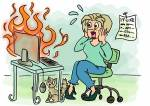 """Das Einsteiger-Homeoffice oder """"Hilfe, ich habe das Internet gelöscht!"""" Wenn Sie es im Nirvana des Internets bis zu diesem Test geschafft habe"""