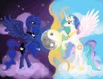 Was weißt du über Luna und Celestia? MLP
