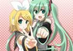 Vocaloid Miku und Rin!