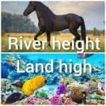 River height land high - Woodwalker und Seawalker RPG